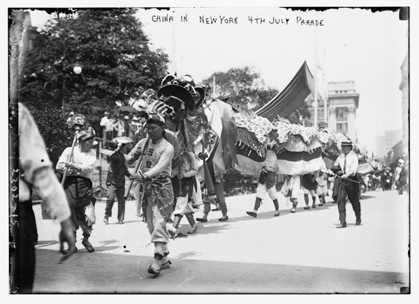 China in N.Y. 4th of July Parade, 1911. Library of Congress, Prints & Photographs Division.
