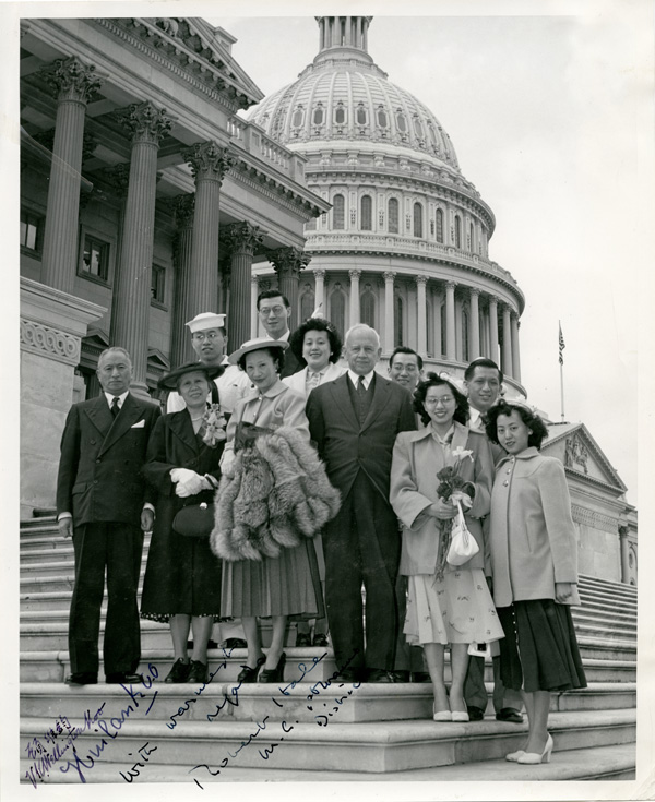 <strong><em>Toy Len Goon in Washington D.C.</em></strong><strong>, 1952. Collections of Maine Historical Society, 2007.356.001.</strong>